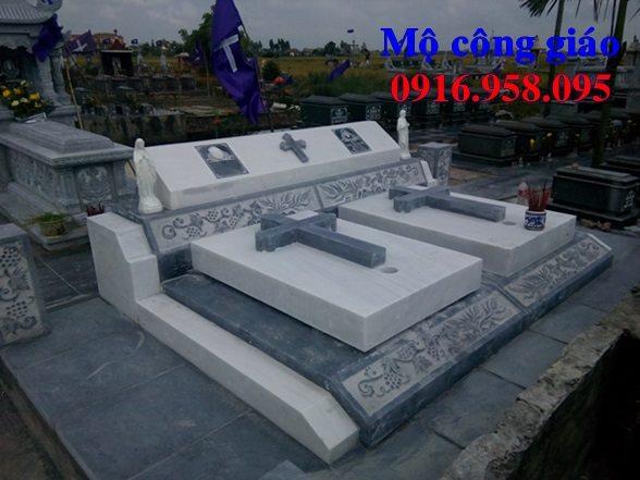 Mẫu mộ đá công giáo đẹp nhất Hà Nội