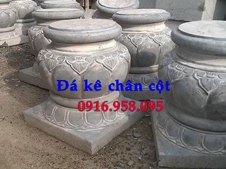 Đá kê chân cột nhà gỗ đẹp bán tại Hà Nội