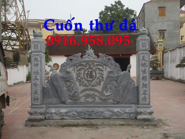 20 Mẫu cuốn thư bằng đá đẹp giá rẻ 2018