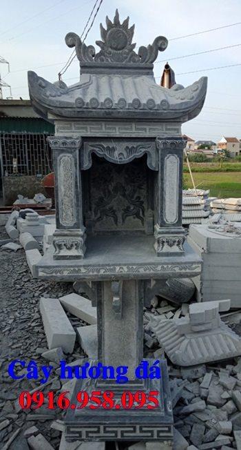 Bàn thờ mẫu cửu trung thiên bằng đá đẹp