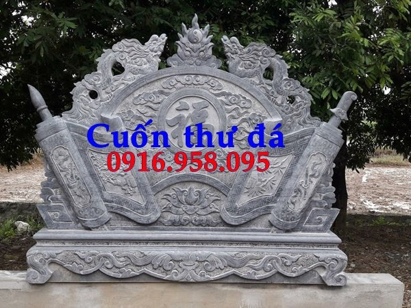 Bức bình phong lăng mộ bằng đá