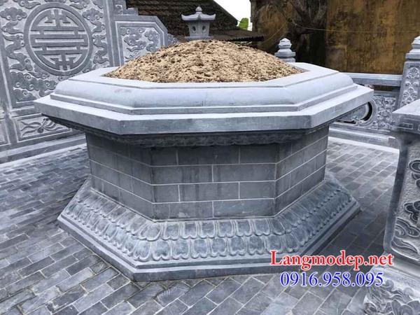 Báo giá mộ lục lăng bằng đá