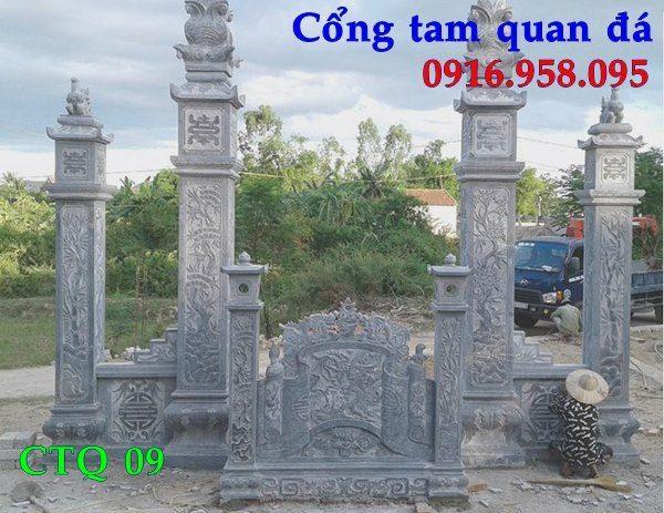 Các kiểu mẫu cổng từ đường nhà thờ tộc đẹp