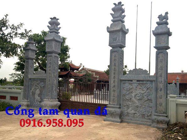 Hình ảnh cổng tam quan chùa đẹp nhất hiện nay