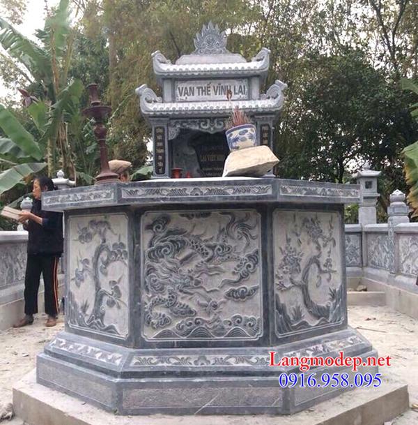 Kích thước mộ lục lăng chuẩn phong thủy