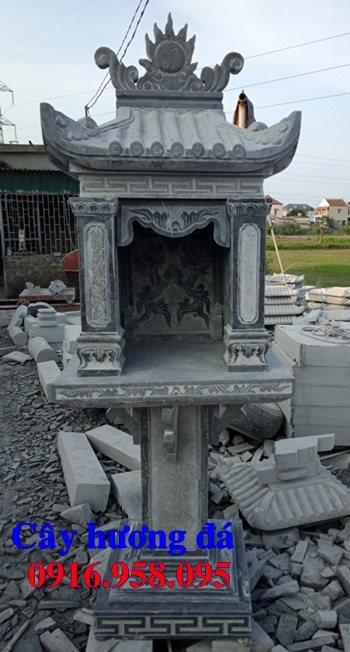 Mẫu bàn thờ thiên ngoài trời bằng đá đẹp