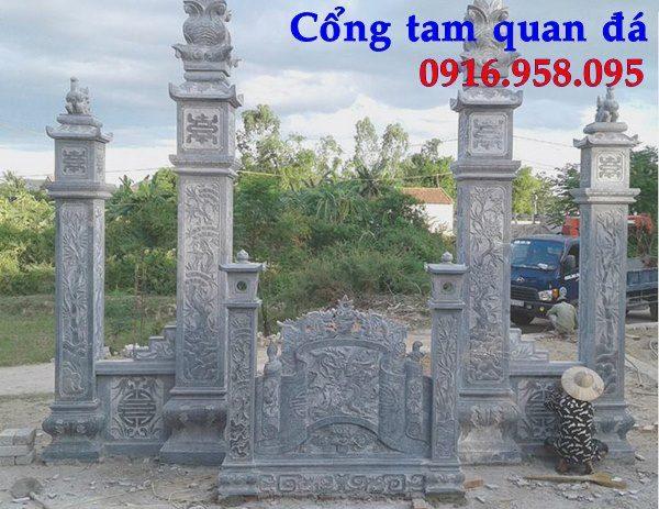 Mẫu cổng nhà thờ họ đẹp tại Bắc Ninh