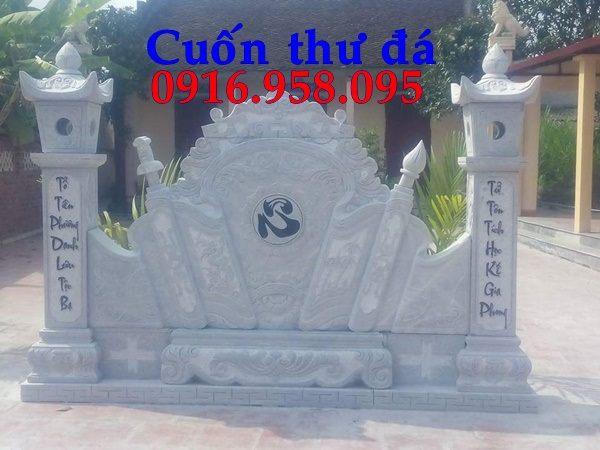 Mẫu cuốn thư đá đẹp lắp ở Bắc Ninh