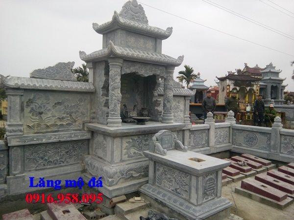 Mẫu lăng mộ đá đẹp lắp ở Nam Định