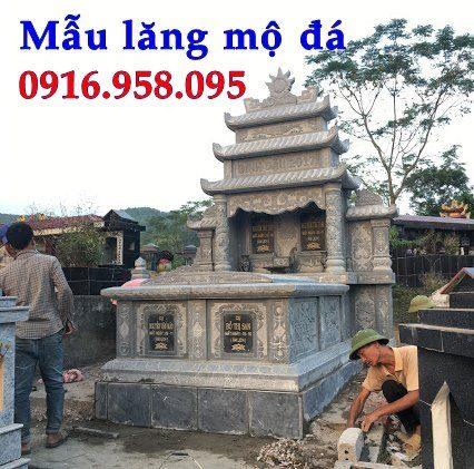 Mẫu mộ đá đẹp lắp đặt tại Vĩnh Long