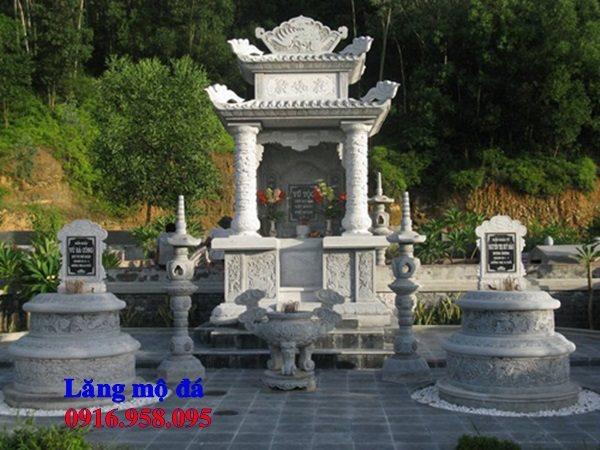 Mẫu mộ đá đẹp lắp ở Lạng Sơn