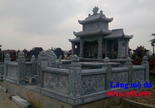 Mẫu mộ đá đẹp lắp ở Thái Nguyên