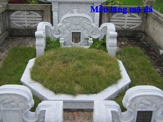 Mẫu mộ đá lục giác đẹp nhất hiện nay