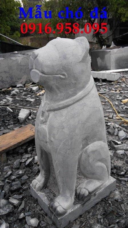 Tượng chó đá cổ phong thủy đẹp nhất hiện nay