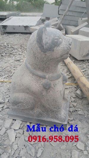 Tượng chó đá phong thủy bán ở hà nội