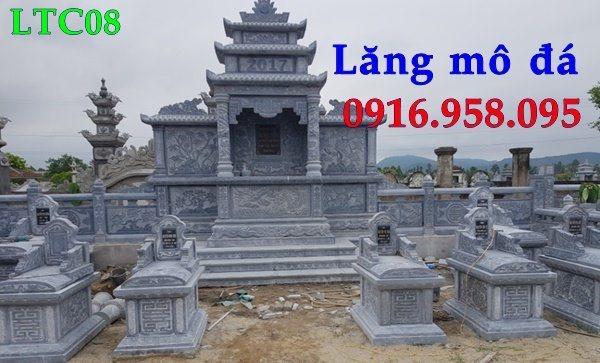 12 Lăng mộ đá đẹp nhất hiện nay