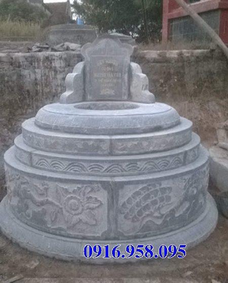15 Mẫu mộ tròn bằng đá đẹp nhất hiện nay