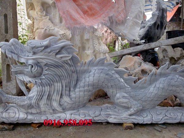 50 Mẫu rồng đá đẹp - chiếu rồng đá đình chùa
