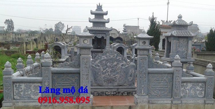 Mẫu lăng mộ đá đẹp bán ở Hà Nội