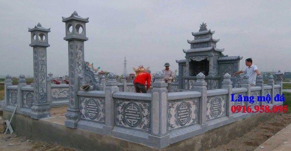 Mẫu lăng mộ đá đẹp nhất tại Thái Bình