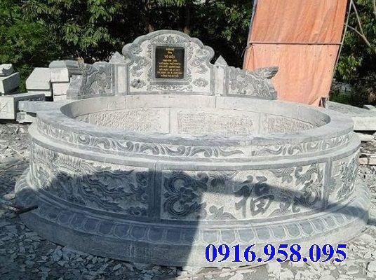 Mẫu mộ đá tròn bán toàn quốc