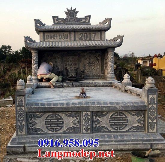 100 Mẫu mộ đá hai mái đẹp bán toàn quốc 05