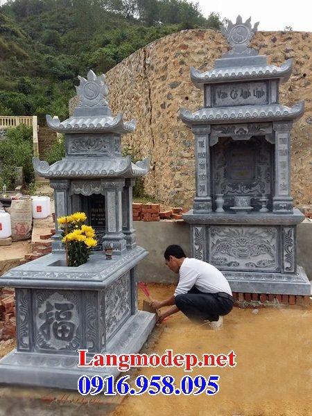 100 Mẫu mộ đá hai mái đẹp bán toàn quốc 29