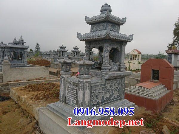 100 Mẫu mộ đá hai mái đẹp bán toàn quốc 60