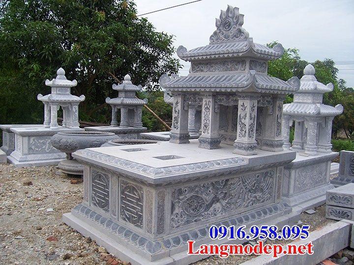 100 Mẫu mộ đá hai mái đẹp bán toàn quốc 73