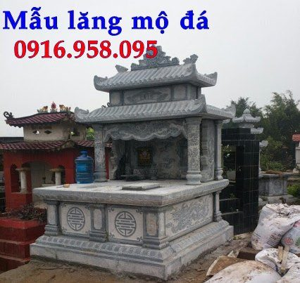 100 Mẫu mộ đá hai mái đẹp bán toàn quốc 86