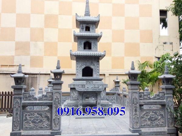 35 Mẫu mộ tháp bằng đá đẹp nhất hiện nay 01