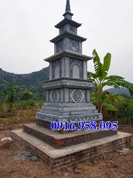 35 Mẫu mộ tháp bằng đá đẹp nhất hiện nay 08