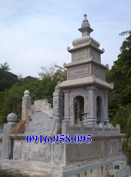 35 Mẫu mộ tháp bằng đá đẹp nhất hiện nay 11
