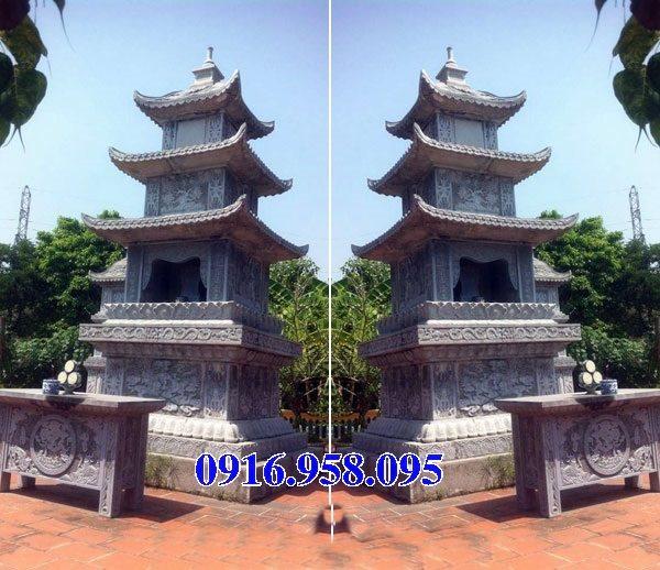 35 Mẫu mộ tháp bằng đá đẹp nhất hiện nay 23
