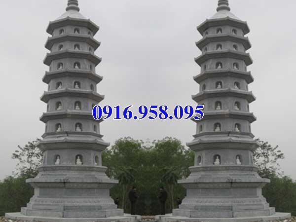 35 Mẫu mộ tháp bằng đá đẹp nhất hiện nay 26