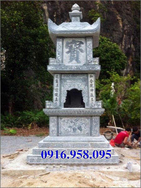 35 Mẫu mộ tháp bằng đá đẹp nhất hiện nay 33