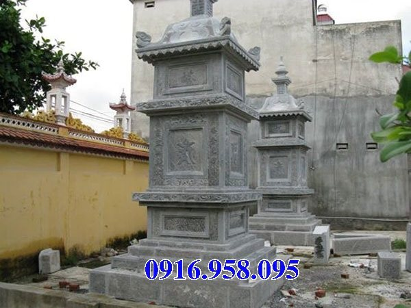 35 Mẫu mộ tháp bằng đá đẹp nhất hiện nay 35