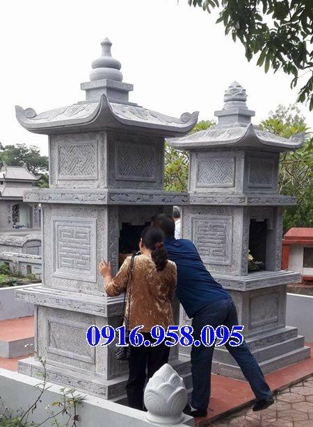 35 Mẫu mộ tháp bằng đá đẹp nhất hiện nay 37