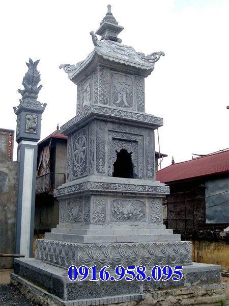 35 Mẫu mộ tháp bằng đá đẹp nhất hiện nay 45