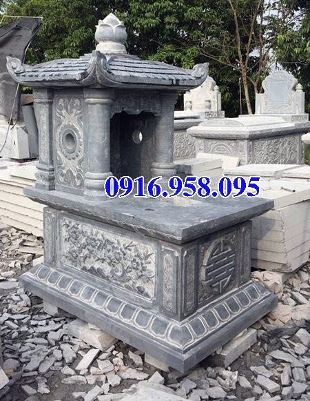 39 Mẫu mộ đá một mái đẹp nhất hiện nay 02