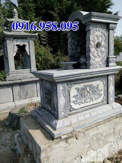 39 Mẫu mộ đá một mái đẹp nhất hiện nay 05