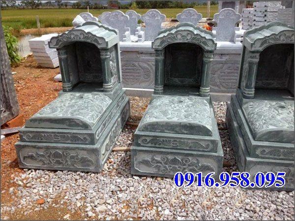 39 Mẫu mộ đá một mái đẹp nhất hiện nay 14