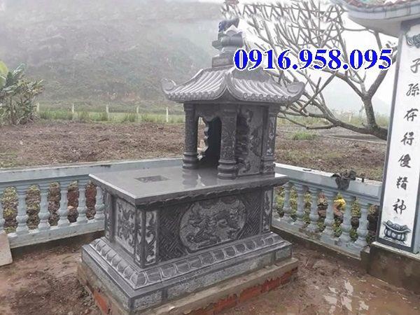 39 Mẫu mộ đá một mái đẹp nhất hiện nay 16