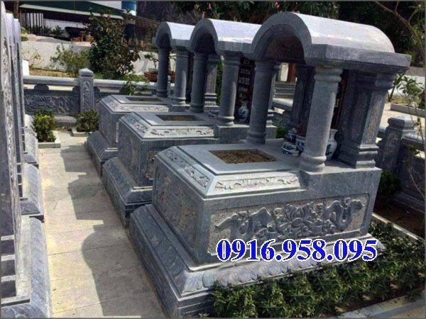 39 Mẫu mộ đá một mái đẹp nhất hiện nay 22