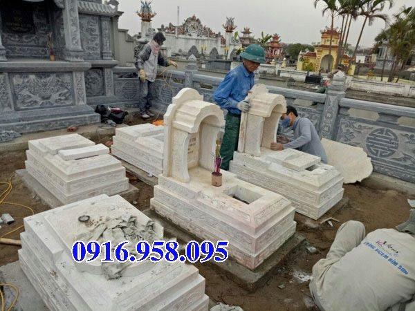 39 Mẫu mộ đá một mái đẹp nhất hiện nay 28