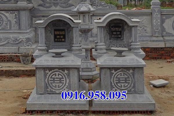39 Mẫu mộ đá một mái đẹp nhất hiện nay 30