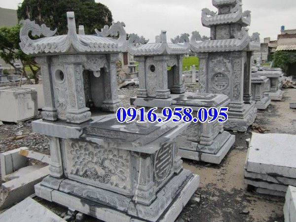 39 Mẫu mộ đá một mái đẹp nhất hiện nay 43