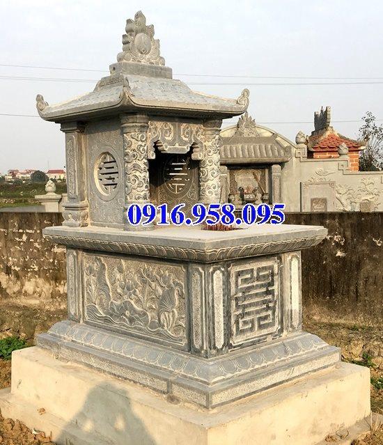 39 Mẫu mộ đá một mái đẹp nhất hiện nay 44