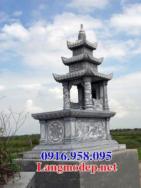 50 Mẫu mộ đá ba mái đẹp bán giá rẻ 03