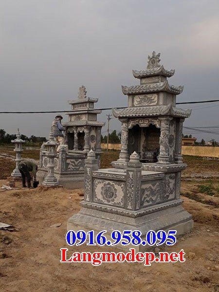 50 Mẫu mộ đá ba mái đẹp bán giá rẻ 04
